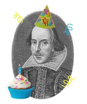 Happy Birthday Mr Shakespeare