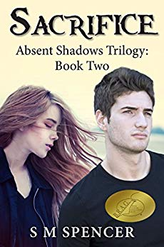 YA paranormal trilogy—Absent Shadows book 2