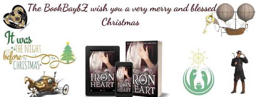 The BookBaybZ, Steampunk, Romance, Iron universe, Iron Heart, Books, Romance Readers